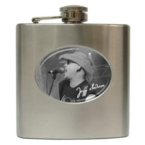 Jeff Swan Signature Flask