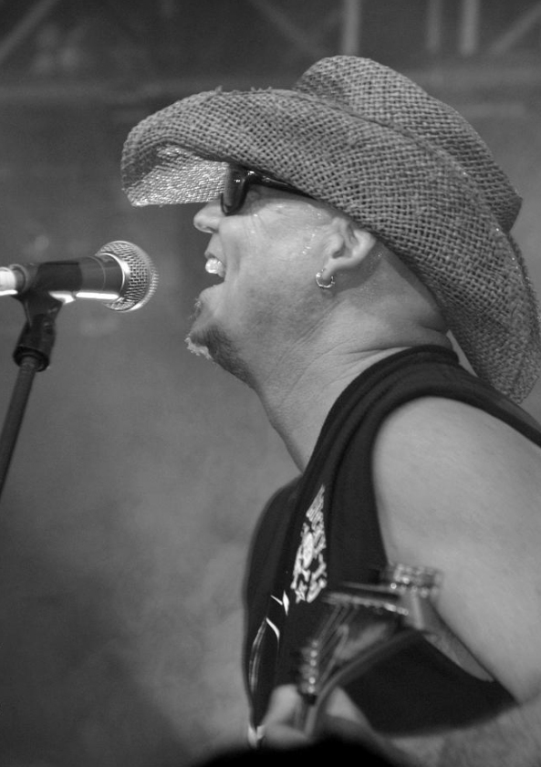 Jeff Swan from the band Slam Bang Photo by Mona Marie