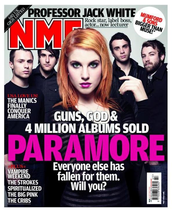 Paramore NME Magazine