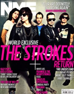 NME Magazine The Strokes