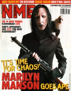 NME Magazine Marlyn Manson