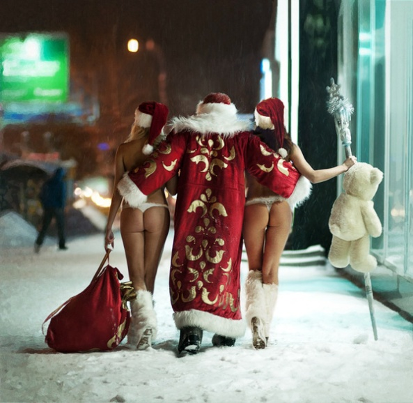 Slam Bang Santa